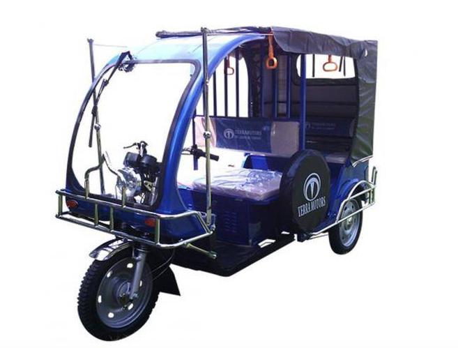 インド EV 三輪