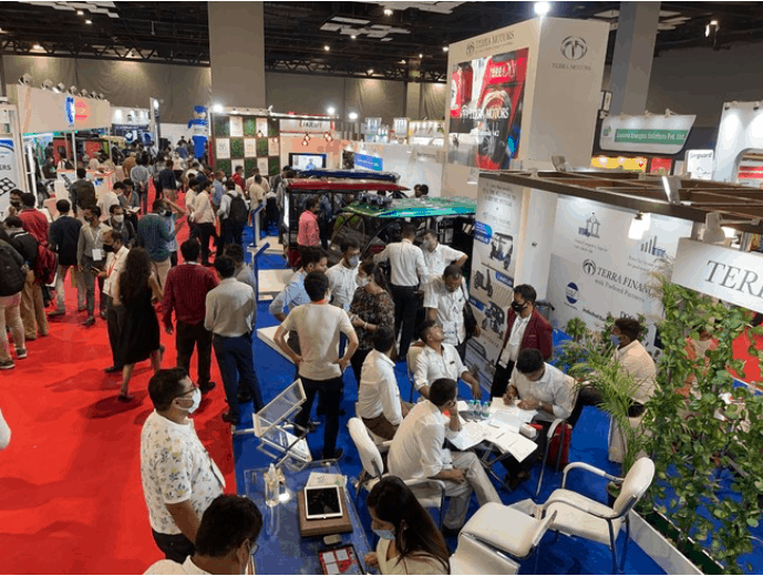 EV EXPO 2021 terra motors